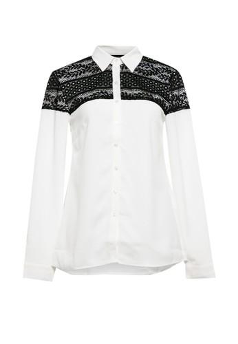 Cardinal white Basic Shirt 4A568AA3461100GS_1