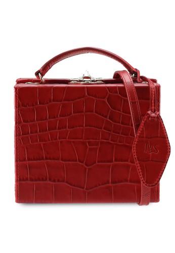 Pop & Suki red Box Bag D09BCAC75D9237GS_1