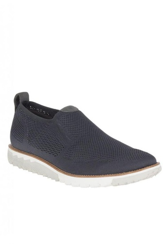 Hush Puppies grey Expert MT Slip-on 1E4A9SH6B5A8B9GS_1