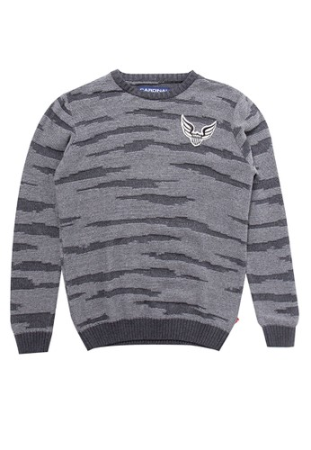 Cardinal Kids grey Knitted Sweater 3CA04KA2DEF1F2GS_1