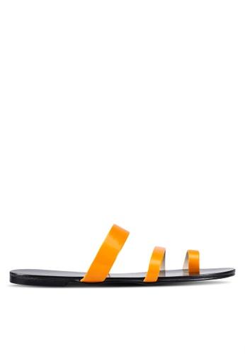 Christy Ng orange Beatrice Orange Summer Sandals CH330SH0RXP0MY_1