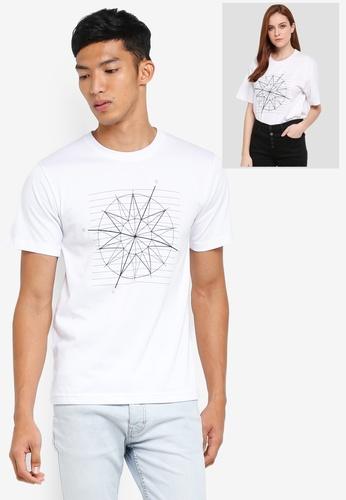 Klozet Kuala Lumpur white Identimetry T-Shirt (Kuala Lumpur) KL475AA0SRN0MY_1