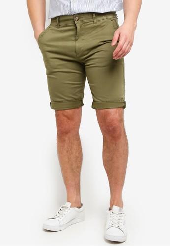 ESPRIT green Woven Regular Shorts 0CF85AA8E577B8GS_1