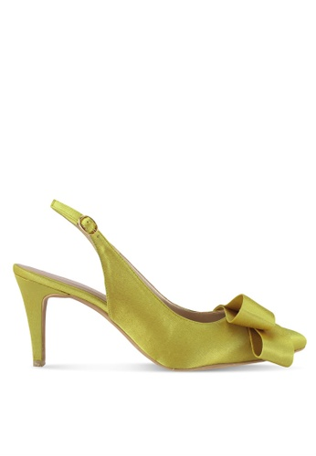 Cipela For Lubna yellow Camille Sling Back Heels A10FCSH3B4FAB1GS_1