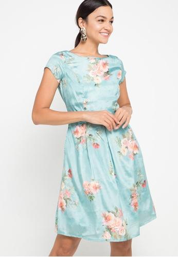 CHANIRA LA PAREZZA blue Adara Dress 2913EAA3D03700GS_1