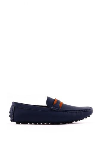 7soles blue Dustin MS Smart Casual Shoes 7S266SH0JRVHPH_1