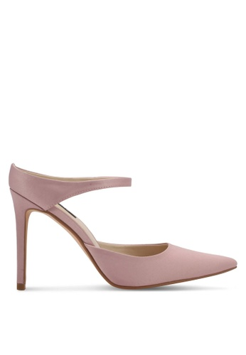 ZALORA pink Classic Slip On High Heels D8BB5SH7AAA536GS_1