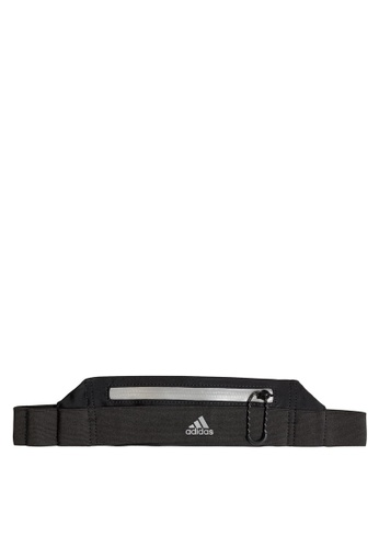 adidas black adidas run belt 86B69ACEC4AA27GS_1