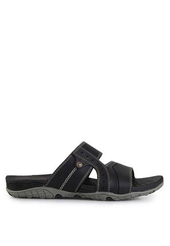 Homyped black Lopez 02 Men Sandals HO842SH55GYMID_1