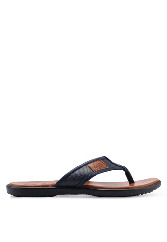 Louis Cuppers blue Daily Sandals 1895DSHDA236E7GS_1