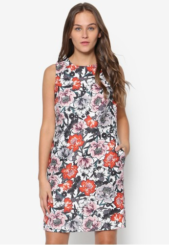 花esprit outlet 台中卉直筒洋裝, 服飾, 洋裝