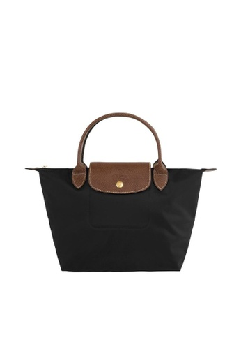 LONGCHAMP black Le Pliage Small Handbag D582AAC9EAD643GS_1