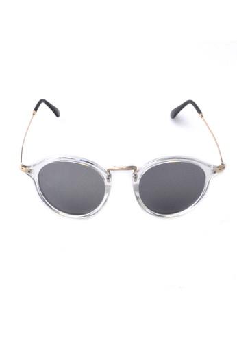 2i's to eyes white Sunglasses│Vintage Round White Frame│UV400 Protection│2is YovaW 33F02GL86CB4BFGS_1