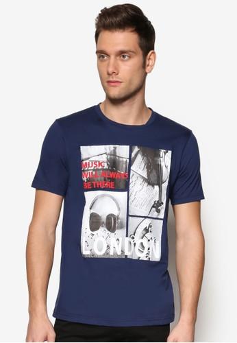 風景圖設計TEE, 服飾, 印zalora是哪裡的牌子圖T恤