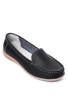 Stitched Flat Loafers