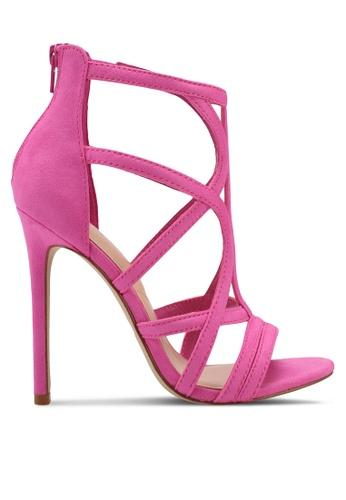 ALDO pink Tifania Heeled Sandals 04198SHDF16031GS_1