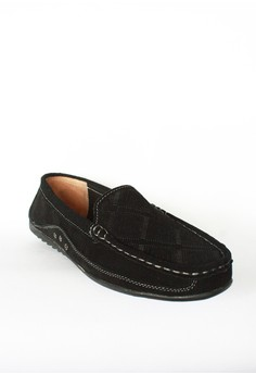Suede Textured Loafers
