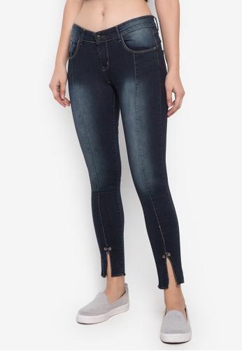 Balaynor blue Fashion Skinny Dark Blue and Slight Acid Wash Jeans E4BC7AA86CFB0BGS_1