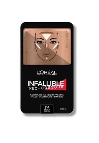 L'Oréal Paris L'Oreal Make Up Designer Infallible Pro-Contour Palette Medium Moyen LO618BE0RVU4MY_1