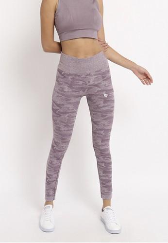 FITWEAR Fitwear - Woman Sport Legging - Army purple - M - L A1335AA257B2B4GS_1
