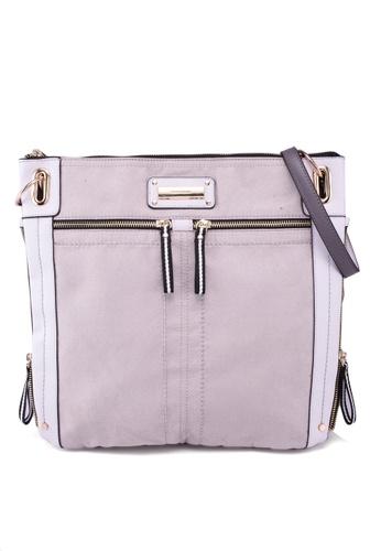 261fe30b6e81a6 Buy River Island Double Zip Detail Messenger Bag Online on ZALORA ...