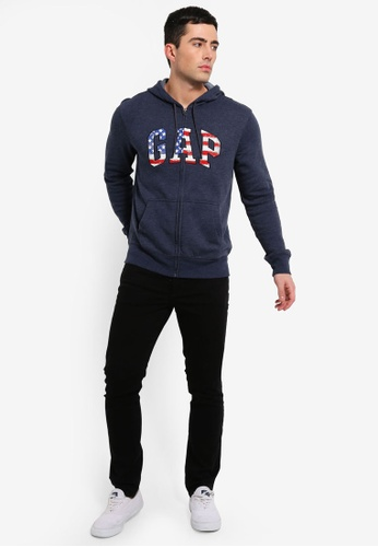 daaed1698609b Buy GAP Flag Gap Arch Zip Hoodie Online on ZALORA Singapore