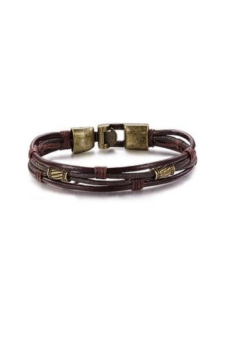 ADORA Leather Bracelet AD365AC2V1AYHK_1