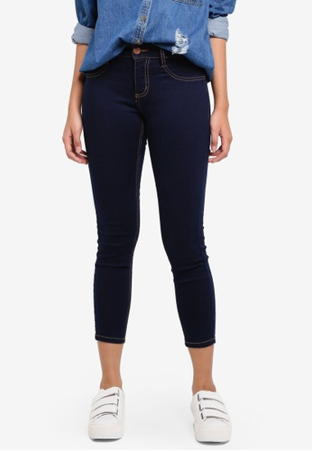 Cotton On blue Mid Rise Capri Jeggings 4A967AA670B11AGS_1