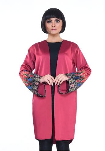 Jameqha red Kimono Montana in Maroon 0AA26AAF08AE23GS_1