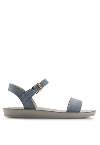 NOVENI 藍色 Slingback Sandals 2B10ASH8815661GS_1