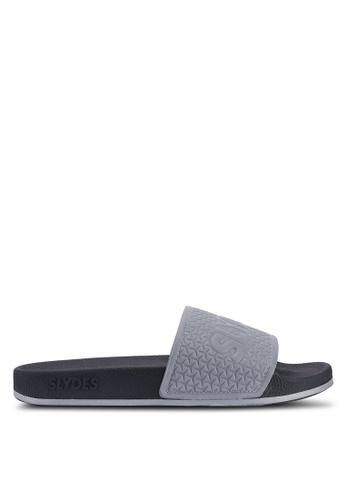 Slydes grey Storm Sandals D6AD7SH6C1E7A7GS_1