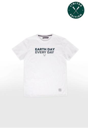 REGATTA white Earth Day Every Day Graphic Tee FDDC5AA7DF6315GS_1
