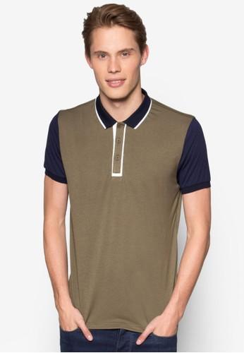 Essential 撞色POLO esprit高雄門市衫, 服飾, Polo衫