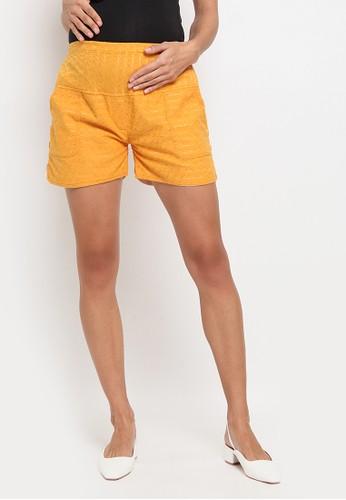 Chantilly yellow Chantilly Celana Short Katun Spandex Adjustable 7100 ABD68AAB86867BGS_1