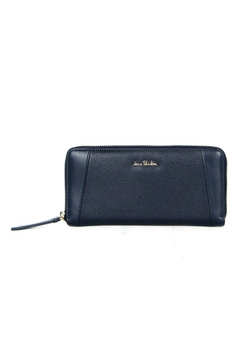 Jane Shilton blue Jane Shilton Macy Long Zip Around Wallet JA903AC0H9TLSG_1