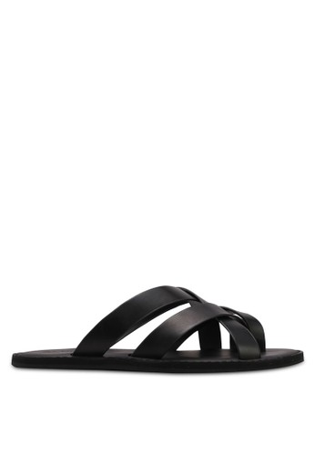 ALDO black Vigodia Sandals B7569SH6D85BB6GS_1