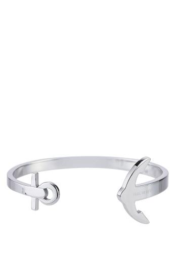 Paul Hewitt silver ANCUFF IP Stainless Steel Cuff Bracelet B4CCDACB86544BGS_1