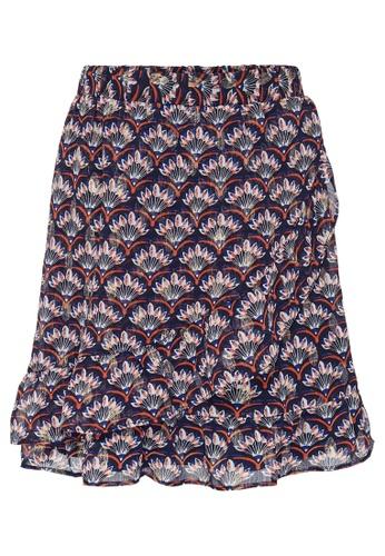 ONLY navy Fake Wrap Skirt 1D45FKA0175E5BGS_1