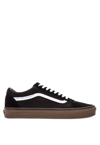 VANS black Gumsole Old Skool Lace-up Sneakers 1192ESH7431D7FGS_1