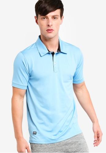 UniqTee blue Micro Pique Sport Polo Shirt 9BAD8AAA17E34CGS_1