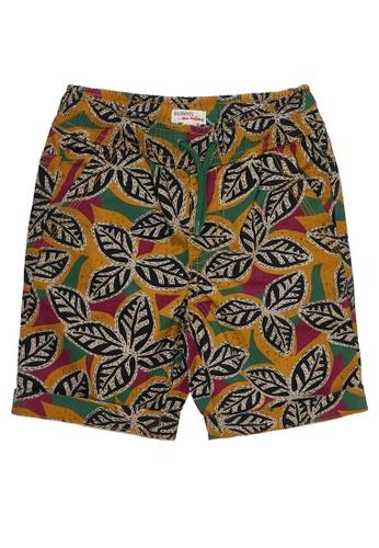 Du Pareil Au Même (DPAM) multi Leaves Bermuda Shorts B3D07KA3008334GS_1