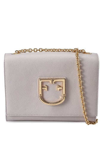 Furla beige Viva Mini Pochette Crossbody Bag 1B7DCACE3D4BA8GS_1