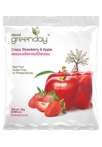 Greenday green Greenday Crispy Strawberry & Apple 25g 32D8BESF6895F5GS_1