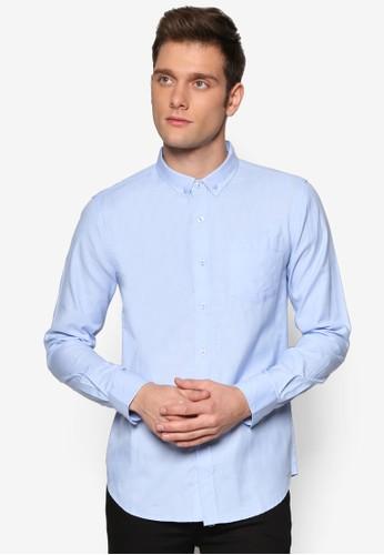 基本款牛津esprit cn長袖襯衫, 服飾, 服飾