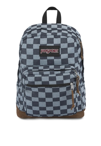 JanSport blue Right Pack Expressions Backpack JA216AC21VCOMY_1