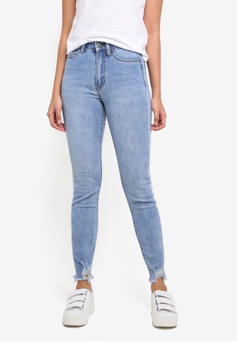 Factorie blue The High-Rise Skinny Jeans 21849AA5FC92B9GS_1
