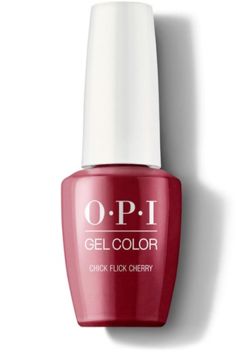 O.P.I red GCH02A - GelColor - Chick Flick Cherry 15mL 1A2BDBED67802DGS_1