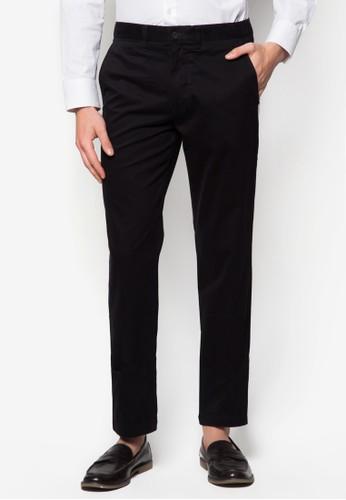 合身無褶西裝長褲, esprit 特賣服飾, 窄管褲