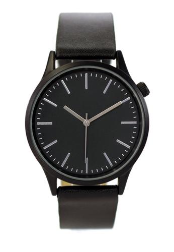 LEUPP black Kubo Watch 7409FACC874519GS_1