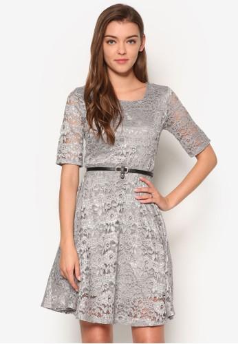 蕾絲夢幻腰帶洋裝, 服esprit地址飾, 夏日洋裝